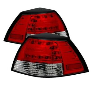 Spyder 5008602 Led Tail Lights Red clear For 08 09 Pontiac G8