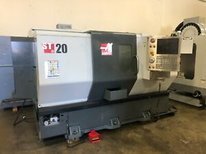2013 Haas St 20 Cnc Lathe W tool Presetter Parts Catcher Chip Conveyor