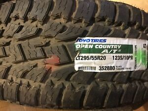 New Tires 2 Tires Toyo Open Country A t2 Lt295 55r20 All Terrain