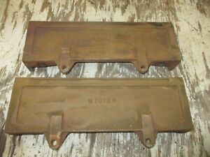 1939 John Deere B Radiator Side Castings B1515r Antique Tractor