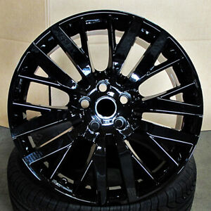 22 22x10 Svr Wheels Fit Land Rover Range Rover Hse Sport Discovery Supercharge