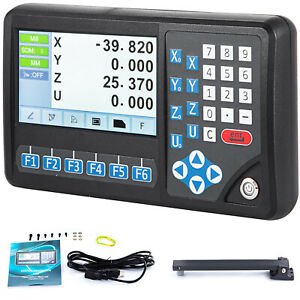 4 Axis Digital Readout Mill Linear Encoder Lcd Screen Dro For Milling Machine