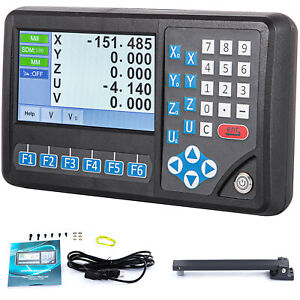 5 Axis Digital Readout Mill Linear Encoder Lcd Screen Dro For Milling Machine
