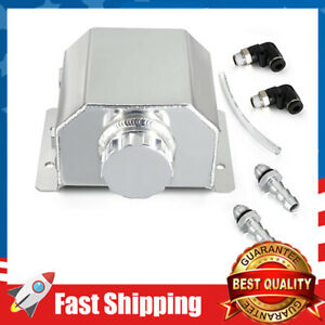 Jdm Universal 1l Coolant Radiator Overflow Recovery Water Tank Oil Catch
