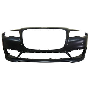 Ch1000a35 New Replacement Front Bumper Cover Fits 2017 2020 Chrysler 300