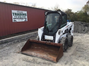 2016 Bobcat S510 Skid Steer Loader W Cab New Tires Clean Only 1700 Hours