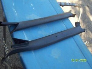 1971 73 Ford Mustang Original Interior Pillar Post Covers For Coupes Only 1 Pr
