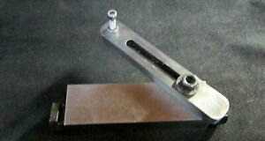 Toolmakers Machinist Adjustable Mill Stop Bridgeport