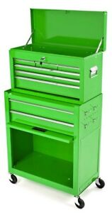 Rolling Tool Chest And Cabinet Green