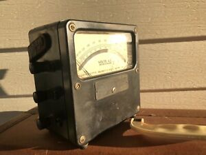 Vintage Weston Model 433 Amperes A c Weston Electrical Instrument Newark N j