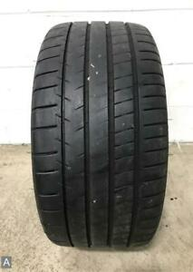 1x P285 35r18 Michelin Pilot Super Sport 9 32 Used Tire