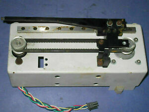 Slide Stage Actuator Table Unit With Vexta Pk244 01aa Motor Parts Lot 51g5