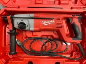Milwaukee 5262 21 8 Amp Corded 1 Sds Plus Rotary Hammer In Case New