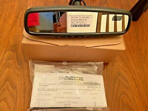 13 16 Mazda Cx 5 Oem New Auto Dimming Homelink Rear View Mirror With Compass