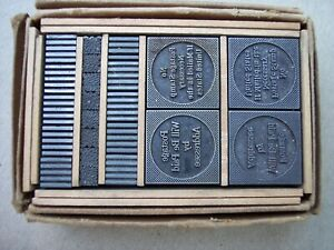 Vintage Acme Type Foundry Handy Packet Printing Type 168