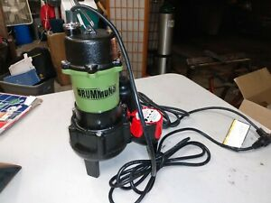 Drummond 1 2 Hp Submersible Sewage Pump With Tether Switch