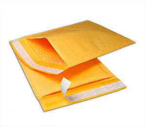Kraft Bubble Mailers Mailing Padded Shipping Envelopes Bags Self sealing Gold