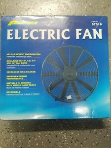 Proform 67016 Electric Radiator Fan Universal 16 Inch 2100cfm New