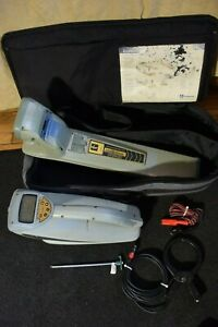 Radiodetection Model Locator Wand Rd4000 With Rd4000t10 Transmitter