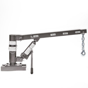 1100 Lbs Capacity Hitch Mounted Crane Hydraulic Lift Hoist For Pickup Trucks