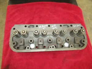 Allis Chalmers Wd Wc Rebuilt Cylinder Head U3001 15 Ac 201 Antique Tractor