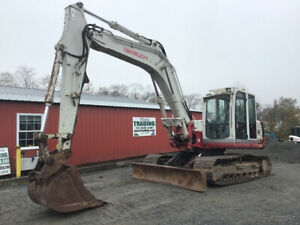 2007 Takeuchi Tb1140 Hydraulic 30000lb Excavator W Cab Blade Only 6000hrs Cheap