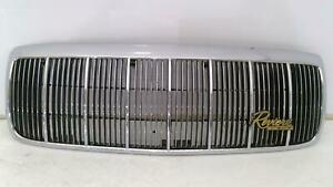 89 93 Buick Riviera Oem Chrome Radiator Grille Assembly