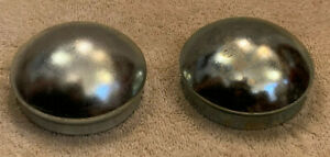 2 Dust Grease Cap Covers For 2 72 Trailer Hub Axles