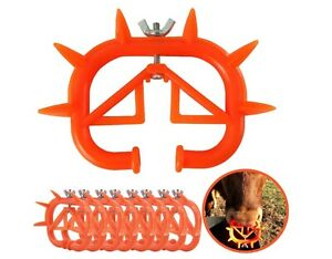 10 Pack Calf Nose Ring Livestock Animal Weaning Tool For Cow Prevent Sucking