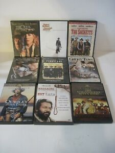 WESTERNS DVDs Western Movies You Choose $2.99