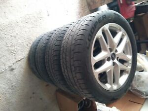 Wheels tires Ford Fusion balanced And Ready For Installation 50 Tre