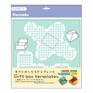 Kuretake Gift Box Template Butterfly Square japan Import From Japan