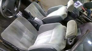 87 89 Toyota Celica Convertible Front Seat Set Left Right Gray Cloth Hs24