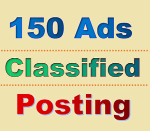 150 Classified Ads Posting Website Promotion Ranking Website Seo Site Traffic