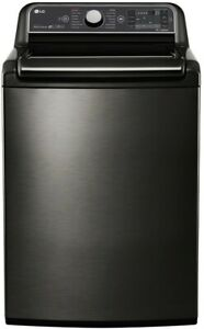 Lg Wt7600hka 27 Inch 5 2 Cu Ft Top Load Washer With Steam Smartdiagnosis
