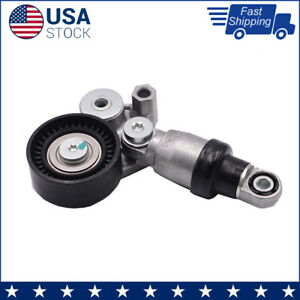 New Belt Tensioner Bearing Pulley For Mazda 3 6 Cx 5 2 0l 2 5l Pey4 5 6 7