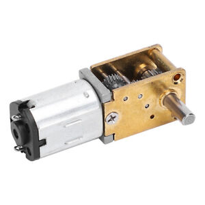 Mini Gear Motor Micro Worm Gear Reducer Brush Motor Electronic Devices