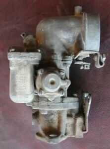 Vintage Carter Ys Carburetor For Early Jeep Air Intake And Fuel Delivery