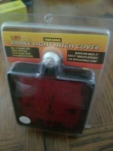 New Led Brake Light Hitch Cover 2 Trailer Hitch 12volt Replacement Lamp 92043