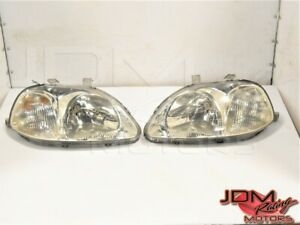 Used Jdm Honda Civic Type R 1996 1997 Oem Left Right Headlights