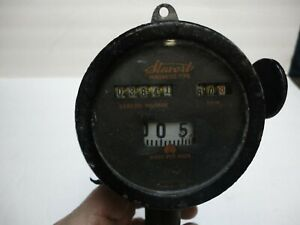Antique 1910s 20s Automobile Stewart Magnetic Type Speedometer