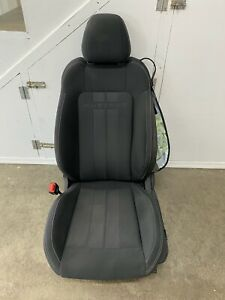 2018 2019 Ford Mustang Gt Lh Driver Side Black Cloth Front Seat Oem