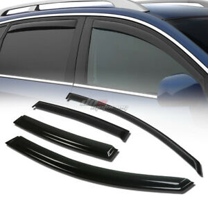 For 06 08 Vw Passat B6 B7 Smoke Tint Window Visor Shade Vent Wind Rain Deflector