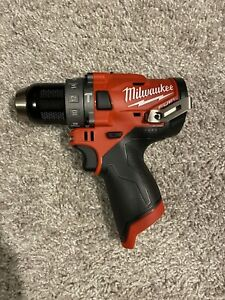 Milwaukee 2504 20 M12 Fuel 12v Brushless 1 2 In Hammer Drill tool Only New