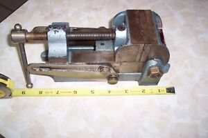 Vintage Wilton 2 1 2 Multi angle Drill Press Vise 2 3 4 Opening Model 25a
