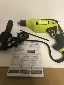New Ryobi 6 2 Amp Corded 5 8 In Variable Speed Hammer Drill C 34
