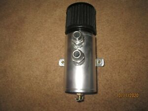 Osias An10 Baffled Aluminum Oil Catch Can Reservoir Tank With Breather Filter