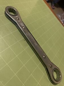 Proto 1195 Double Box Ratcheting Wrench 3 4 X 7 8 12 Point