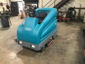 Tennant T15 Industrial Floor Scrubber Excellent Shape And New Batteries Just I