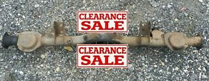 Ae86 1986 Toyota Corolla Sr5 Coupe Hatch Suspension Differential Axle Housing